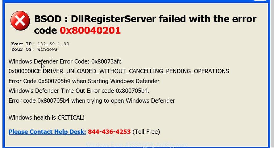 Windows Error #333#
