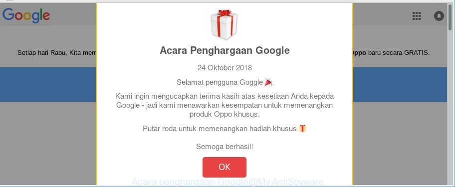 Acara penghargaan Google
