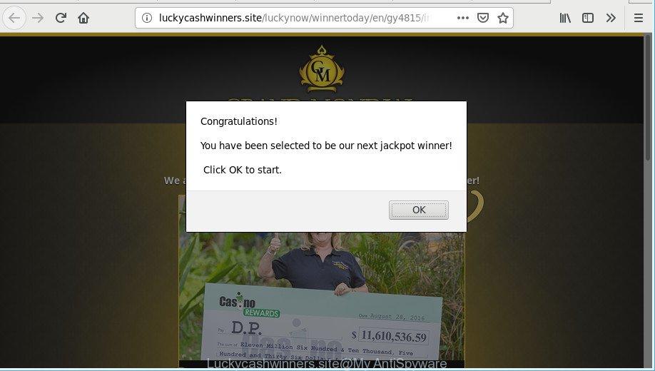 Luckycashwinners.site