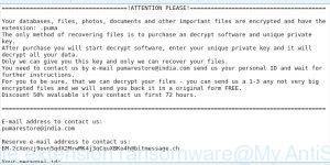 .Puma file extension ransomware