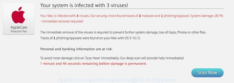 Как удалить Apple.com-system-repair.live