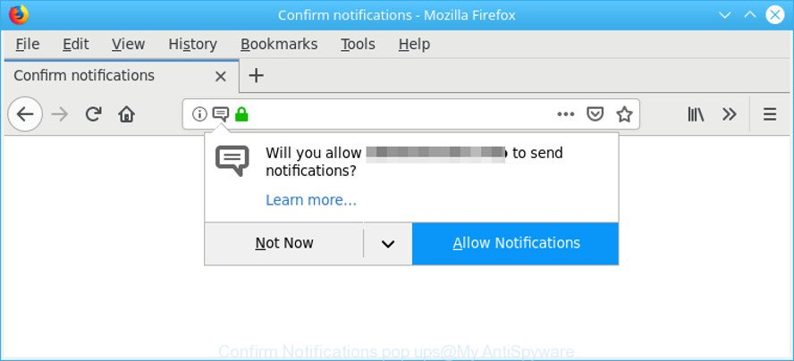 Confirm Notifications pop ups