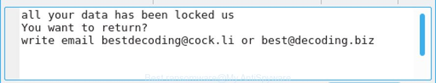 Best ransomware