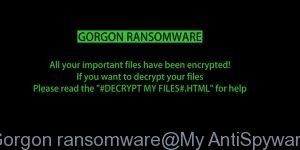 Gorgon ransomware