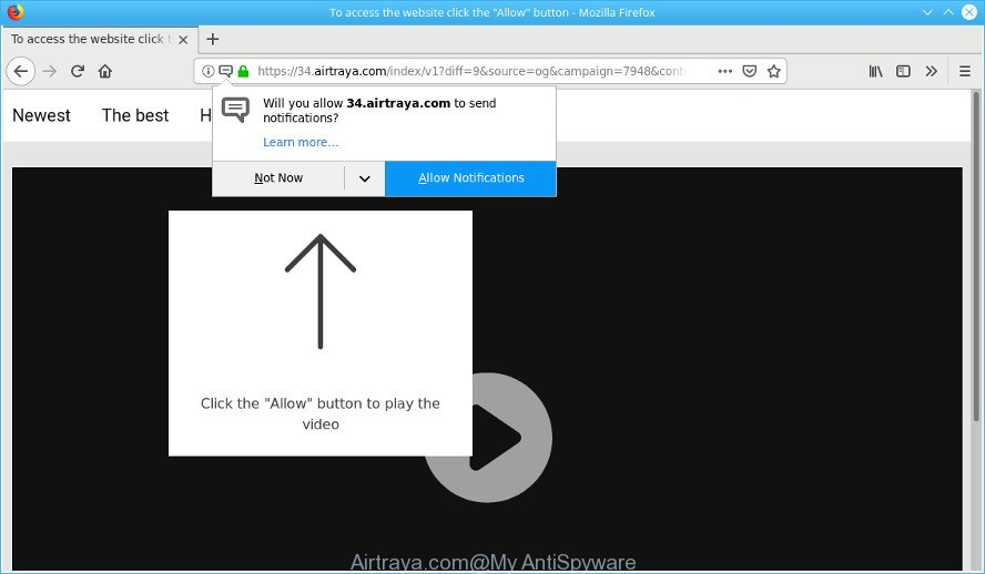 How to remove Airtraya.com pop-ups [Virus removal guide]