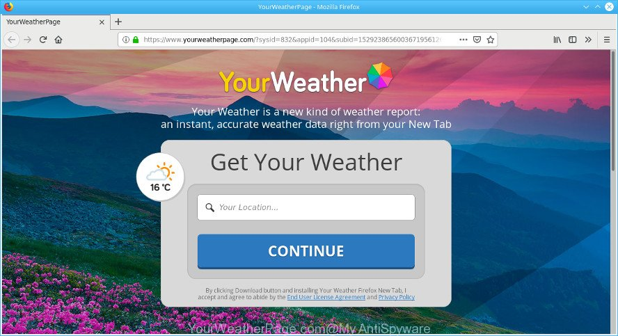 YourWeatherPage.com