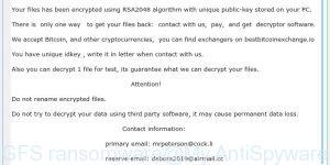 GFS ransomware
