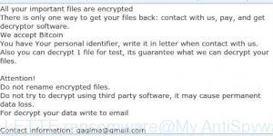 GILLETTE ransomware