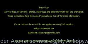 Golden Axe ransomware