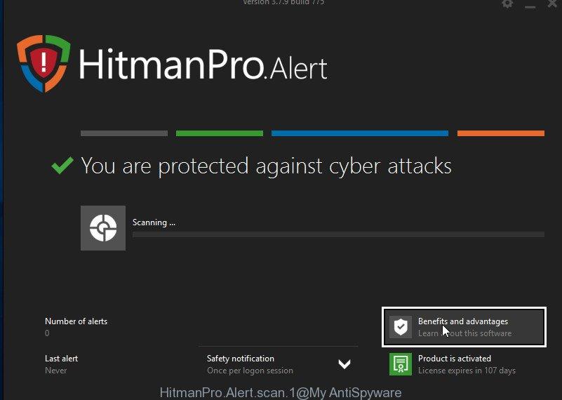 HitmanPro.Alert scan