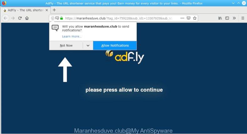 How to remove Maranhesduve club pop-ups redirect [Virus