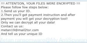 Metan ransomware