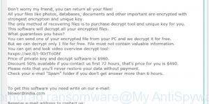 Promorad ransomware