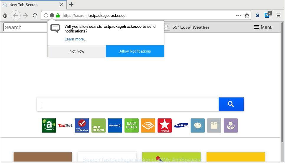 Search.fastpackagetracker.co