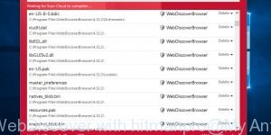 remove WebDiscover with hitmanpro