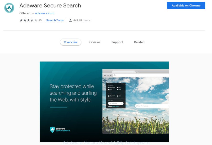 Ad-Aware Secure Search
