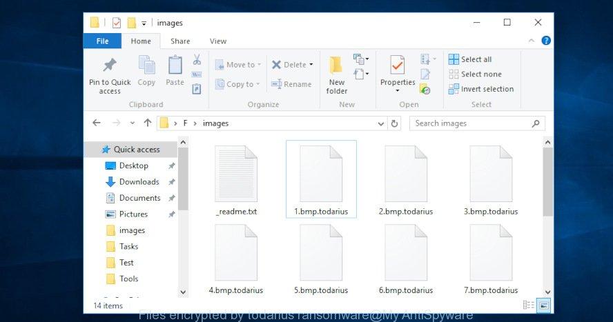 Todarius file extension ransomware virus (Restore, Decrypt  todarius