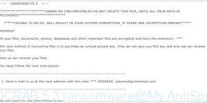 GANDCRAB 5.3 ransomware