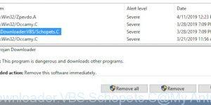 TrojanDownloader:VBS/Schopets.C