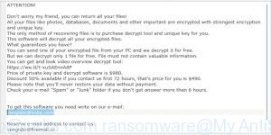 Vengisto@india.com ransomware