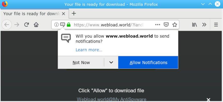 How to remove Webload world pop ups [Chrome, Firefox, IE, Edge]