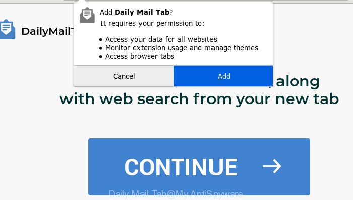 Daily Mail Tab