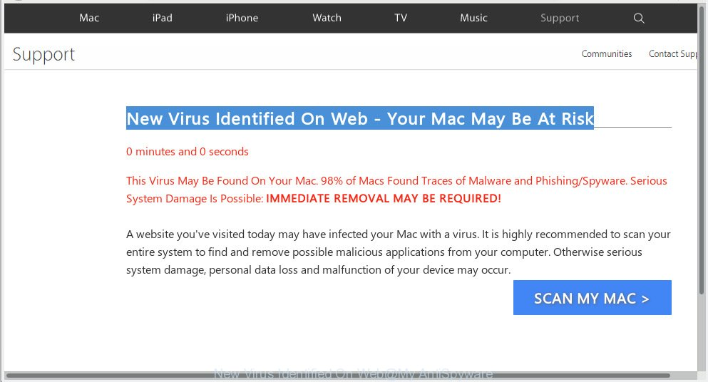 New Virus Identified On Web - Your Mac May Be At Risk
