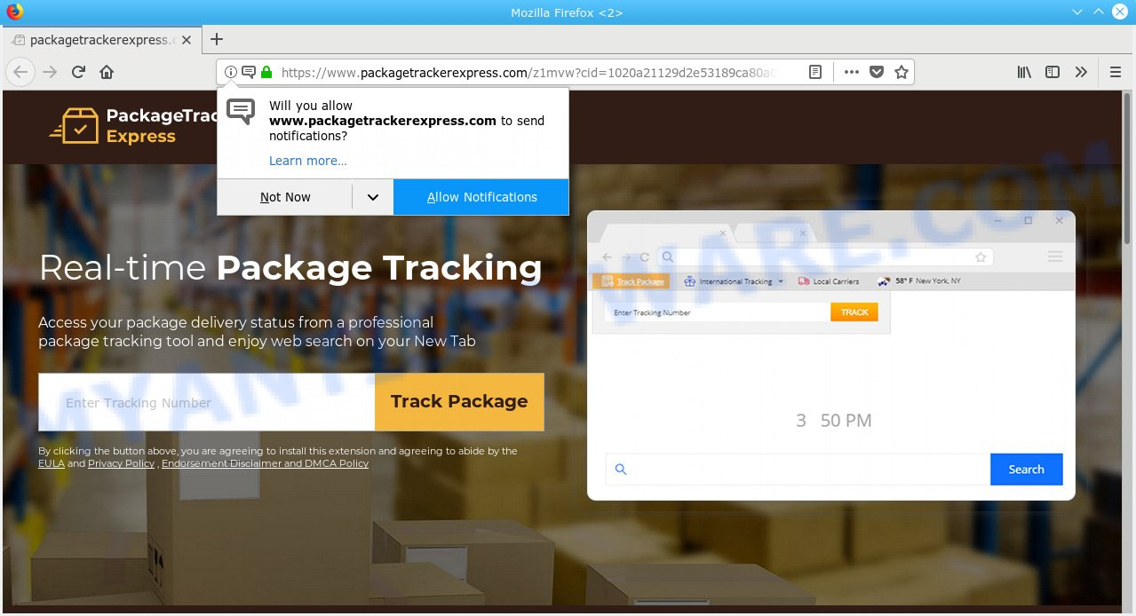 Packagetrackerexpress.com