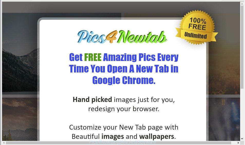 Pics4Newtab