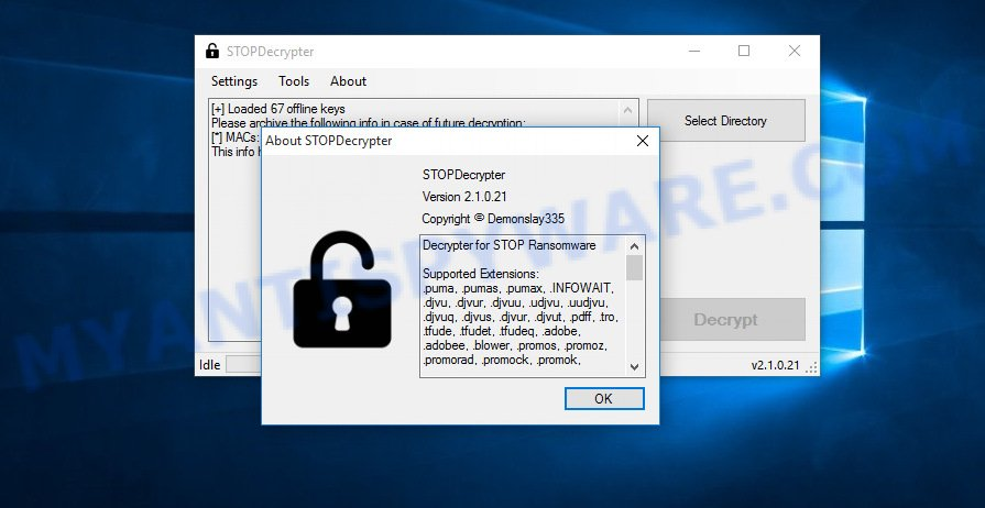Mogranos decryption tool