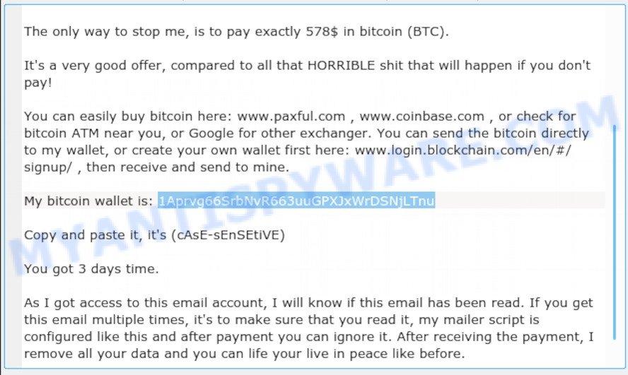 1Aprvg66SrbNvR663uuGPXJxWrDSNjLTnu bitcoin email scam