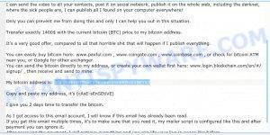 1GFg16hnDTfNxC1SKGkm1rm6KBnbVBEYXJ bitcoin email scam