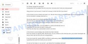 1WPZhmZ69A9QyYUJkrDiafFkecbdCL6NS Bitcoin Email Scam