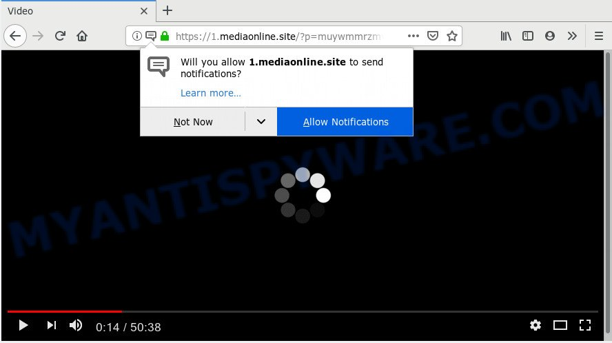 How to remove Mediaonline site popups virus [Chrome, Firefox