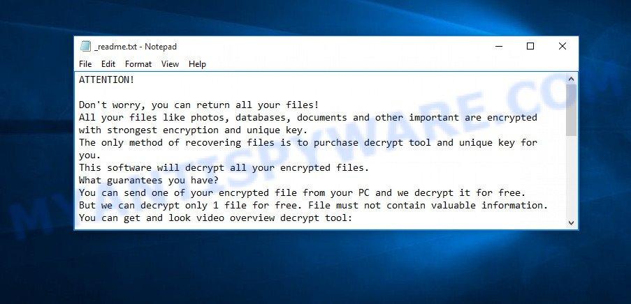 Nasoh virus ransom note