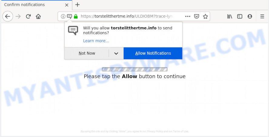 How to remove Torstelitthertme info pop-ups [Chrome, Firefox, IE, Edge]