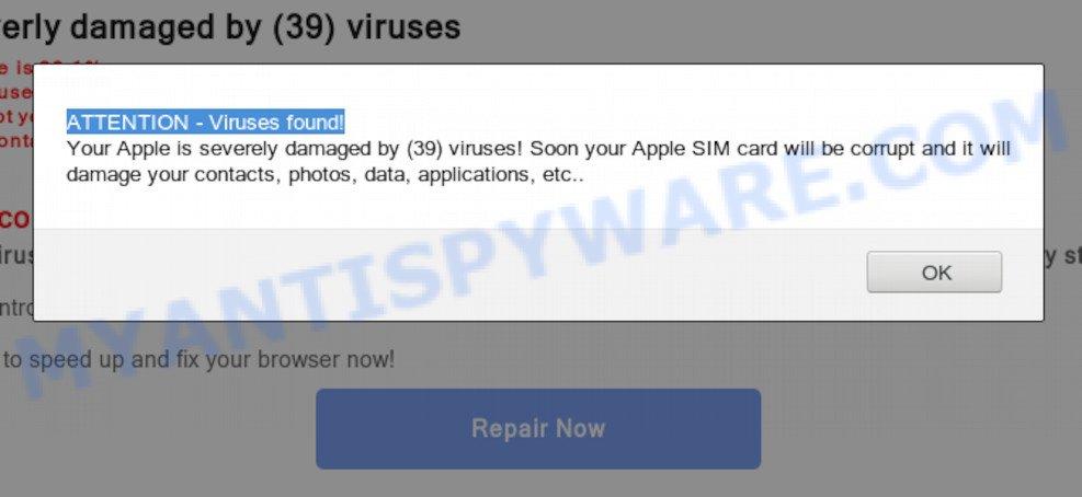 ATTENTION - Viruses found
