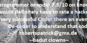 Badut Clowns virus