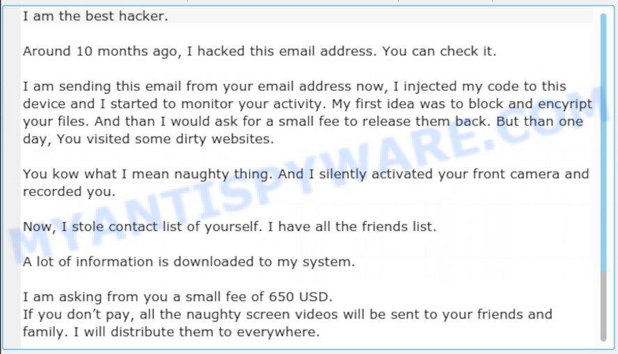 """Jeanson James Ancheta AKA ancheta-2yo on darkweb"" email scam"