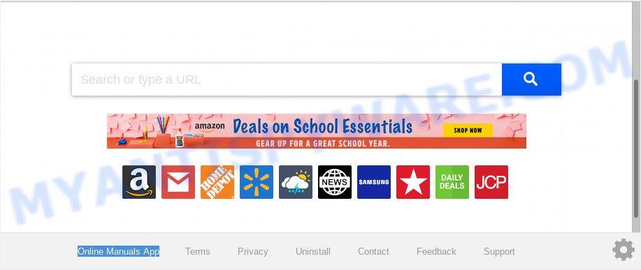Online Manuals App