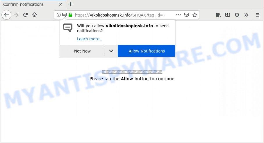 How to remove Vikolidoskopinsk info pop-ups [Chrome, Firefox