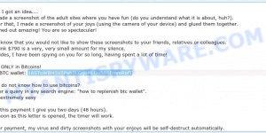 16STuWBH3U5Pah3LGgbMLUu56SEmrsRbfT Bitcoin Email Scam