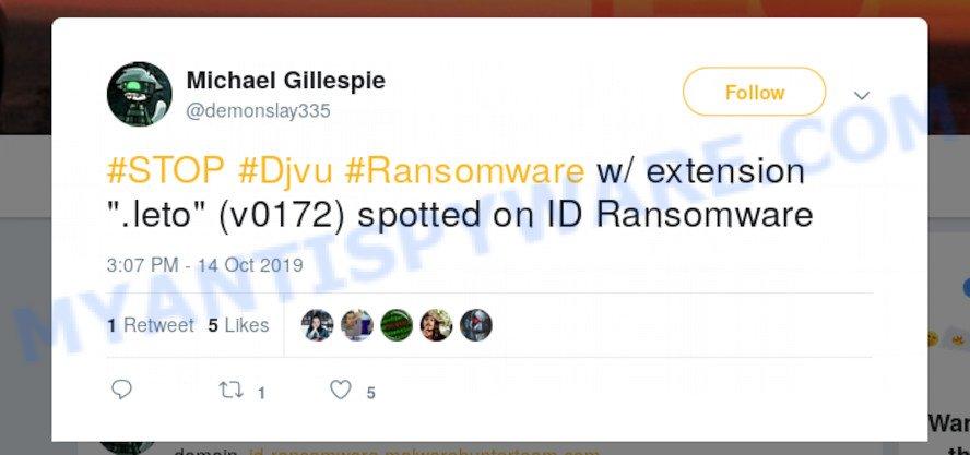 Leto ransomware