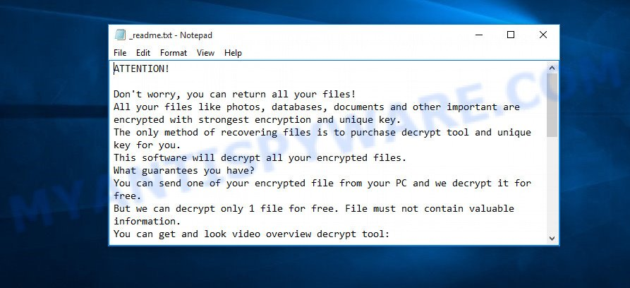 Werd ransom note