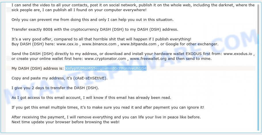 XnfypYUMso855erq8vmsdGcFPcnWeUh1G4 Email Scam