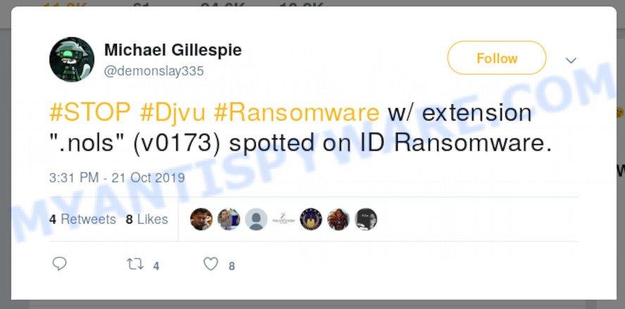 .nols file extension ransomware