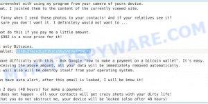 12hBxZ7mzn3LgT3SjCsS6yS4tVefPBWCPt Bitcoin Email Scam