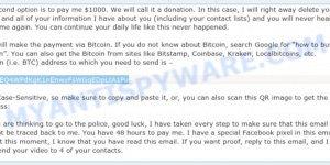 17sgjEQ4WPdKgK1nEnwvFsWGqEDpLtA1Pu Bitcoin Email Scam