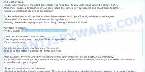 1QKG5uTDq1GU8iNYqycitEL9dv9dctoQsV Bitcoin Email Scam