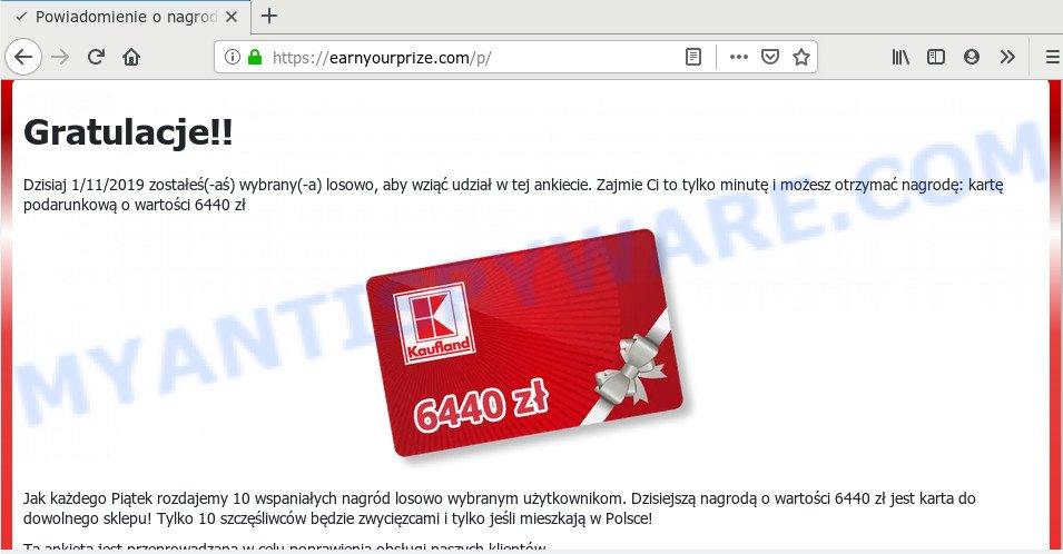 Earnyourprize.com